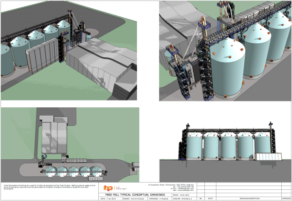 Typical Feed Mill Conceptual Design