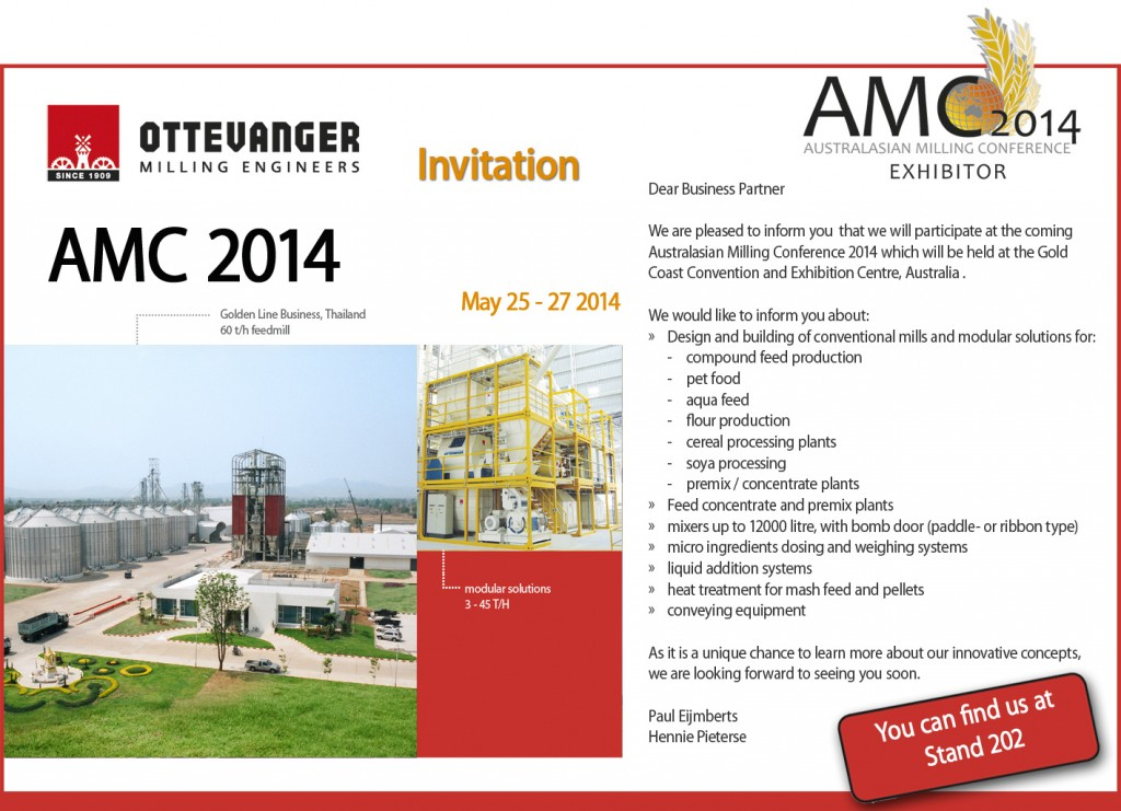 Australasian Milling Conference 2014